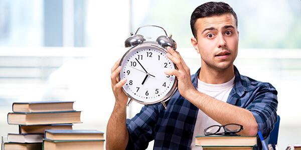 Zorg dat je op tijd bent: maandag 1 mei aanmelddeadline studies